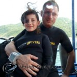 Marine and her dad Pascal