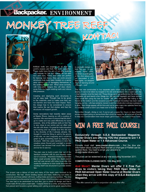 Win a dive course or get free dives !