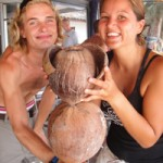 Chris, Mel and the Monkey...