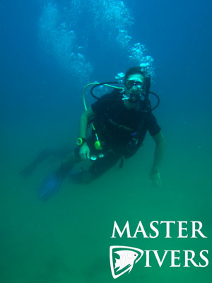 Diver in Thermocline