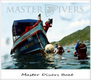 Master Divers Boat