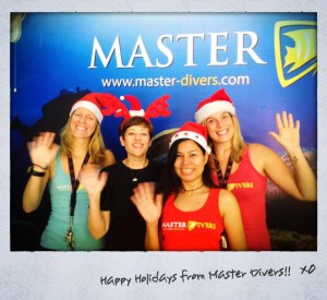Master Divers Merry Christmas