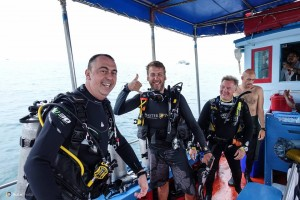 Final Specialty Dives of Brian's Master Scuba Diver