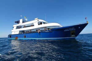 Liveaboard vessel on the West Coast