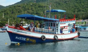 One of our fully equipped dive vessels