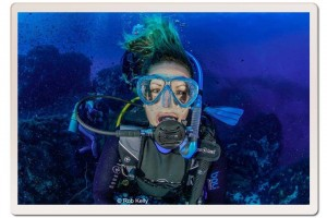 Hayley Scuba Diving in Koh Tao, Thailand