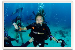 PADI Open Water Mask Removal Skill