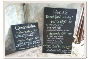 Specials Boards at Coconut Monkey
