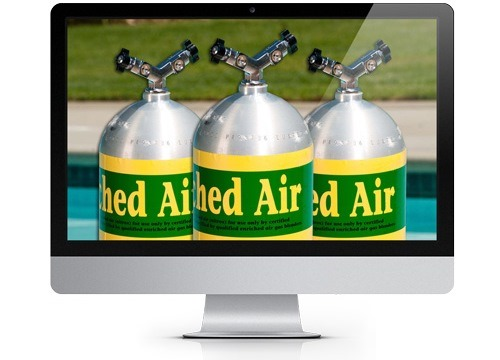 PADI eLearning for Enriched Air Nitrox Diver