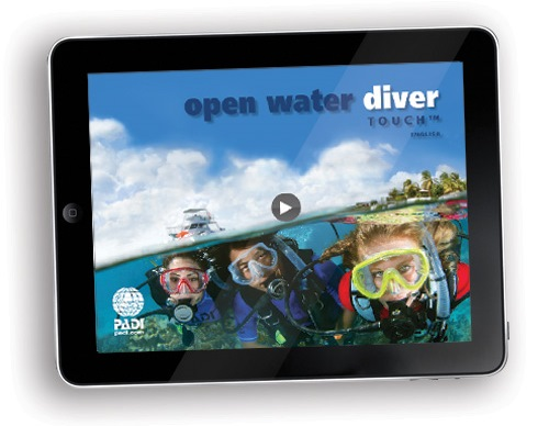 PADI eLearning for Open Water Diver